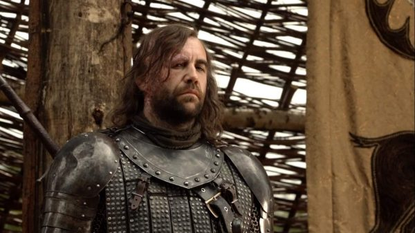 """Rory McCann as Sandor Clegane, Game of Thrones s01e04, """"Cripples, Bastards, and Broken Things"""""""