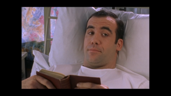 Rory reading in bed